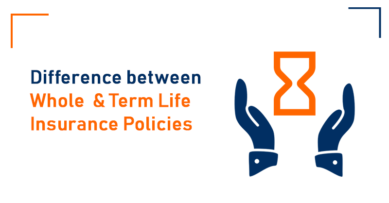 Difference between whole life Insurance and Term Life Insurance policies
