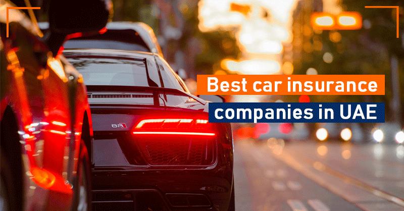 Best car insurance companies in UAE