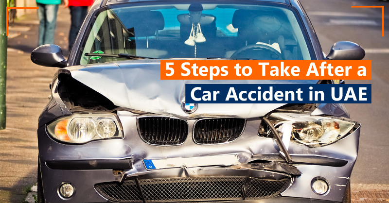 5 Steps to Take after a Car Accident in UAE